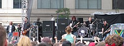 A Seether a DC101 Chili Cookoffon (2008)
