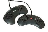 Sega Genesis/Mega Drive controllers - original...