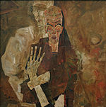 Self Seers II (Death and man) Egon Schiele 1911.jpg