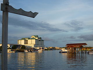 District Capital in Sabah, Malaysia