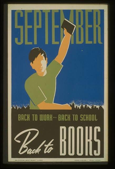 September WPA poster