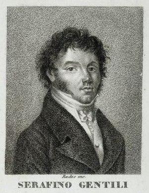 Serafino Gentili - Image: Serafino Gentili by Luigi Rados (1773 1840)