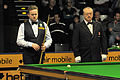 Shaun Murphy and Eirian Williams at Snooker German Masters (DerHexer) 2013-01-30 02.jpg