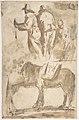 Sheet of Studies- Three Figures Above, Studies of Horses Below MET DP809912.jpg