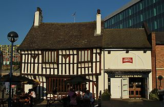 Old Queens Head 15th-century building in Sheffield, England