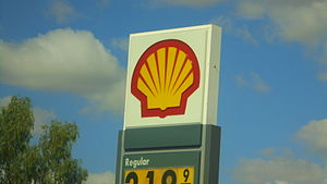 Shell Oil Company - Shell gas sign, also in Phoenix