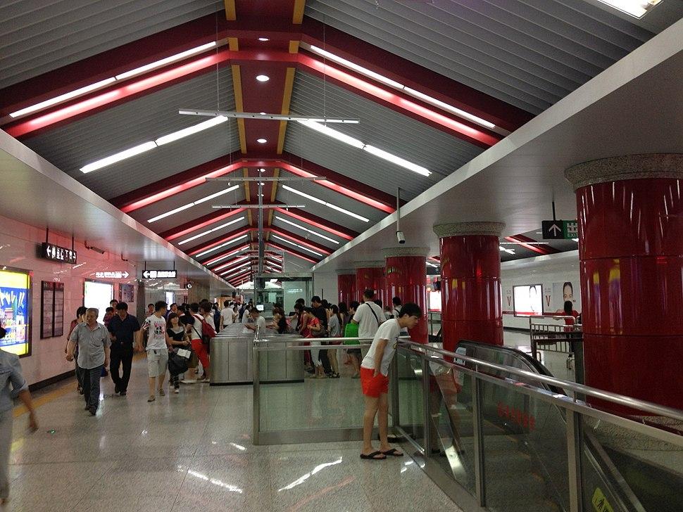 Shenyang Metro Zhongjie Station