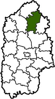 Shepetivka Raion Subdivision of Khmelnytskyi Oblast, Ukraine