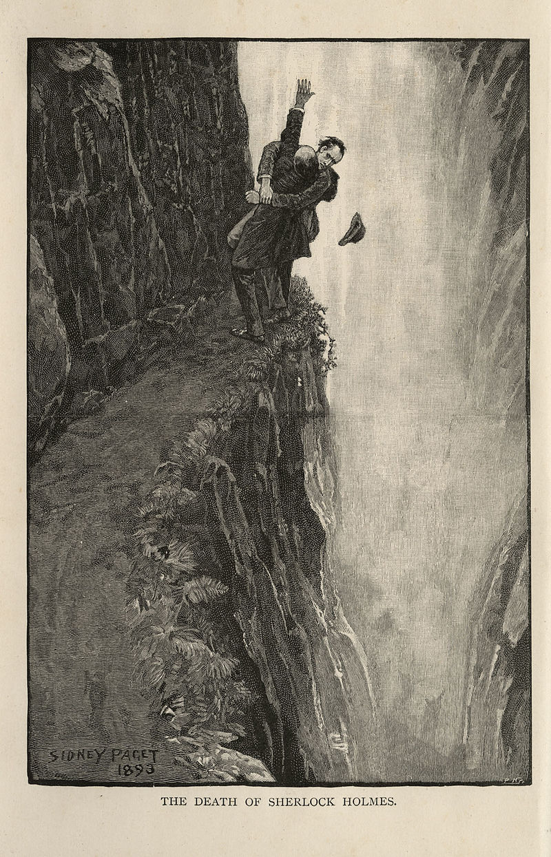 Sherlock (BBC) - Page 4 800px-Sherlock_Holmes_and_Professor_Moriarty_at_the_Reichenbach_Falls