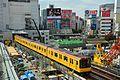 Shibuya Station construction (30620616726).jpg