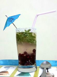 Shikanji- served with pomegranate,grated apple and mint.jpg
