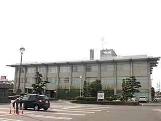 Shimotsuma, Ibaraki City in Kantō, Japan