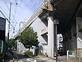 Shinkansen Osaka railroad section, electric power office, structural inspection center.jpg