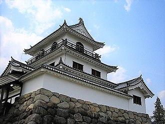 Satake clan - Shiroishi Castle, the headquarters of the Ōuetsu Reppan Dōmei