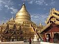 Shwe Zigon Pagoda, Bagan, Myanmar.jpg