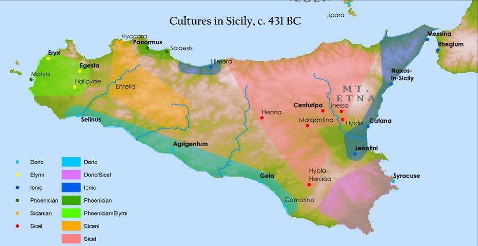 Sicily cultures 431bc