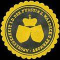 Siegelmarke Angelegenheit i.D. d. Fürstin zu Waldeck-Pyrmont W0358608.jpg