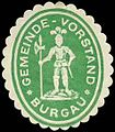 Siegelmarke Gemeinde-Vorstand Burgau W0314365.jpg