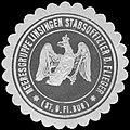 Siegelmarke Heeresgruppe Linsingen Stabsoffizier der Flieger (St. O. Fl. Bug) W0225860.jpg