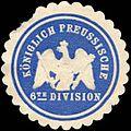 Siegelmarke Königlich Preussische 6te Division W0216176.jpg