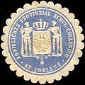Siegelmarke Königliches Provinzial Schul - Collegium zu Coblenz W0212655.jpg