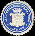 Siegelmarke Stadtgemeindeverwaltung - Eltmann W0226334.jpg