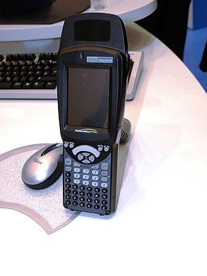 English: Reader for RFID, barcode & Data Matri...