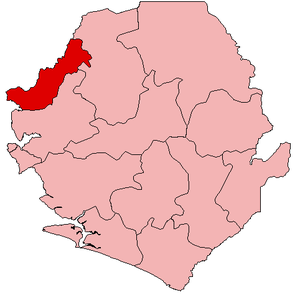 Kambia District - Image: Sierra Leone Kambia