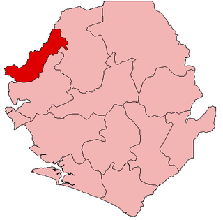 Kambia District Place in Northern Province, Sierra Leone