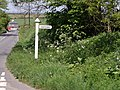 Sign for Quither - geograph.org.uk - 421902.jpg