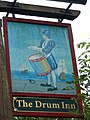 Sign for the Drum Inn, Cockington - geograph.org.uk - 943066.jpg