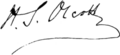 Signature of Henry Steel Olcott (1832–1907).png
