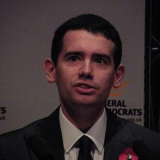 Simon Wright (politician) - Image: Simon Wright MP Hinchinbrooke 2010
