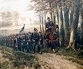 Simonis & Buunk – Hermanus Willem Koekkoek – Prussian infantry on the march.jpg