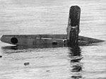 Sinking Mitsubishi G4M off Guadalcanal 1942.jpg