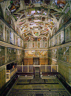 Sistine Chapel Chapel in the Apostolic Palace