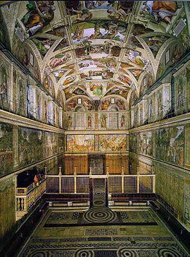 Capilla Sixtina Wikipedia La Enciclopedia Libre