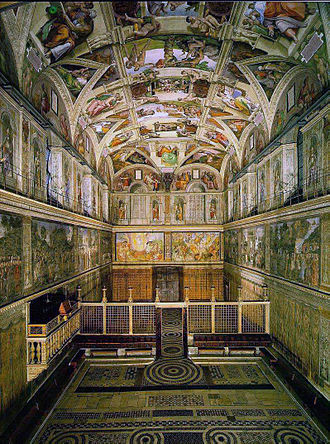 Sistine Chapel - Sistine Chapel, from the altar end