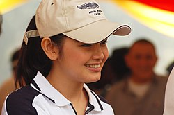 Siti Nurhaliza during the Malay Mail Big Walk 2007, a charity event to