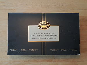 Classic Malts of Scotland - Six Classic Malts of Scotland box