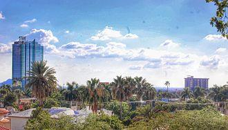 Hermosillo - Image: Skyline Hermosillo