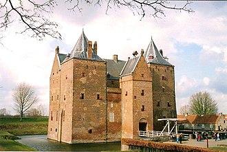 Loevestein Castle - Image: Slotloevestein