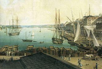 1842 in Sweden - Slussen Järnvågen Julin