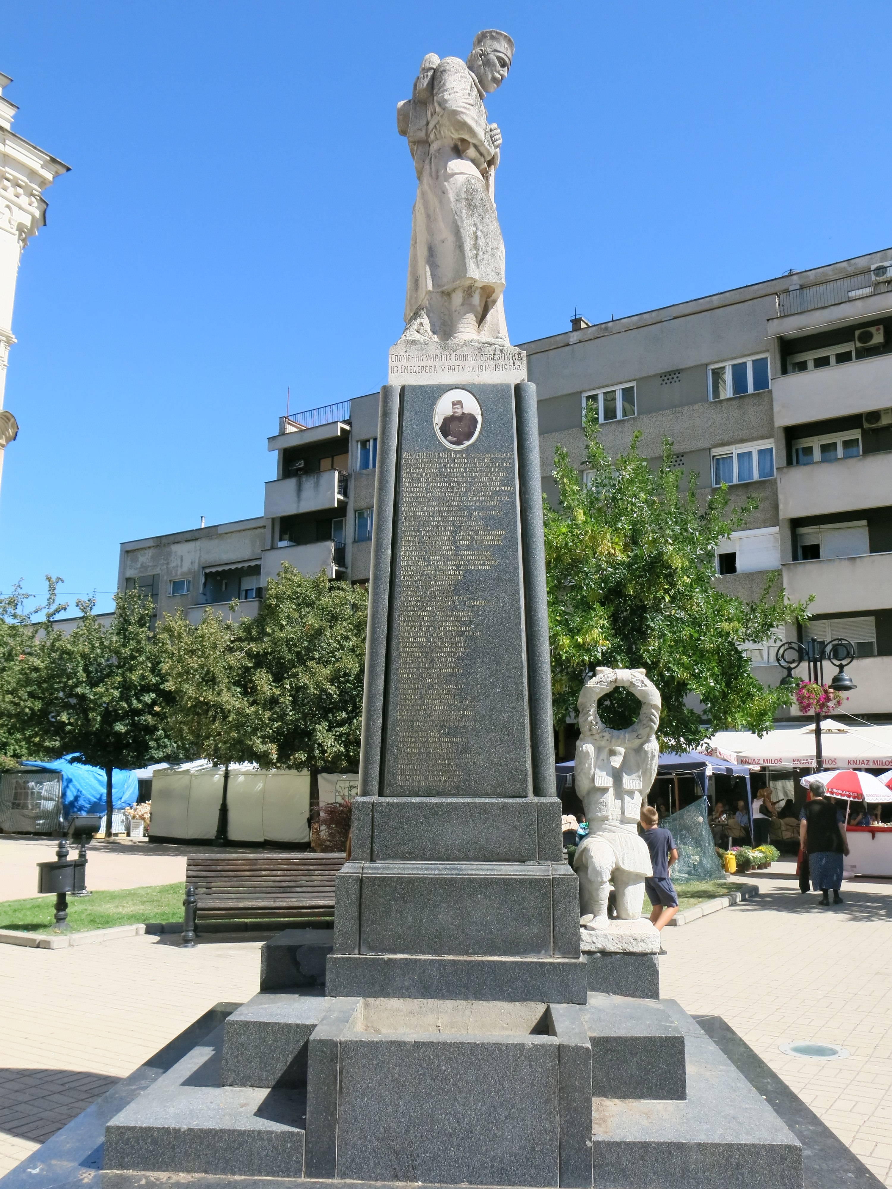 File Smederevo Spomenik Palim Borcima U Prvom Svetskom Ratu 05