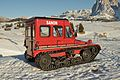 Snow vehicle Snow Trac 3 on Alpe di Siusi Seiseralm.jpg