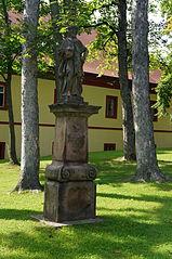 Socha svatého Karla Velikého