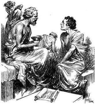 Moorestown Friends School - Socrates teaching.