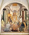 Sodoma - Life of St Benedict, Scene 33 - Benedict Gives Posthumous Absolution to Two Nuns - WGA21583.jpg