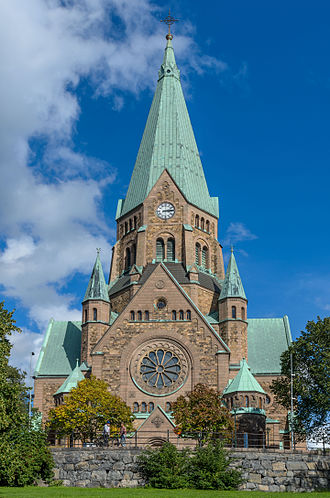Sofia Church - Image: Sofia kyrka September 2012b