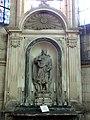 Soissons (02), cathédrale, chapelle rayonnante sud, autel et retable de saint Valère 2.jpg